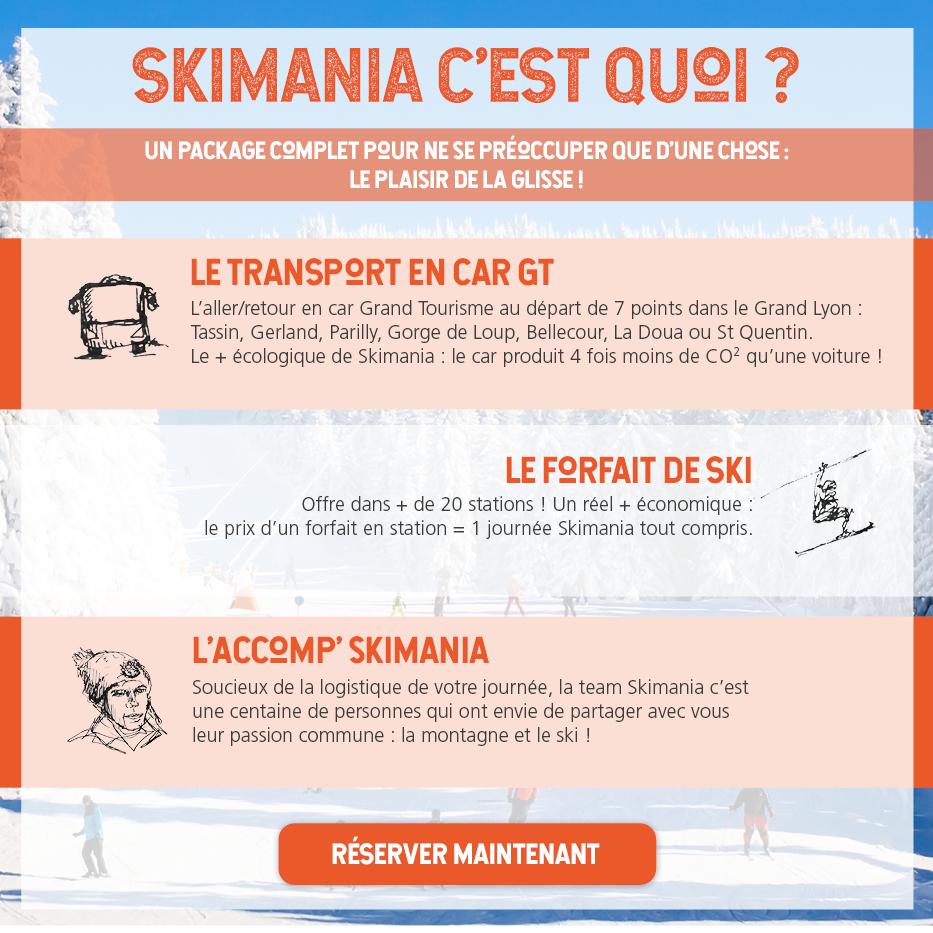 cfda4e9f98b164 Sorties Ski Journée, Weekends et séjours depuis Lyon - SKIMANIA